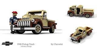 Chevrolet 1946 Pickup Truck (Advance Design) - McGyver