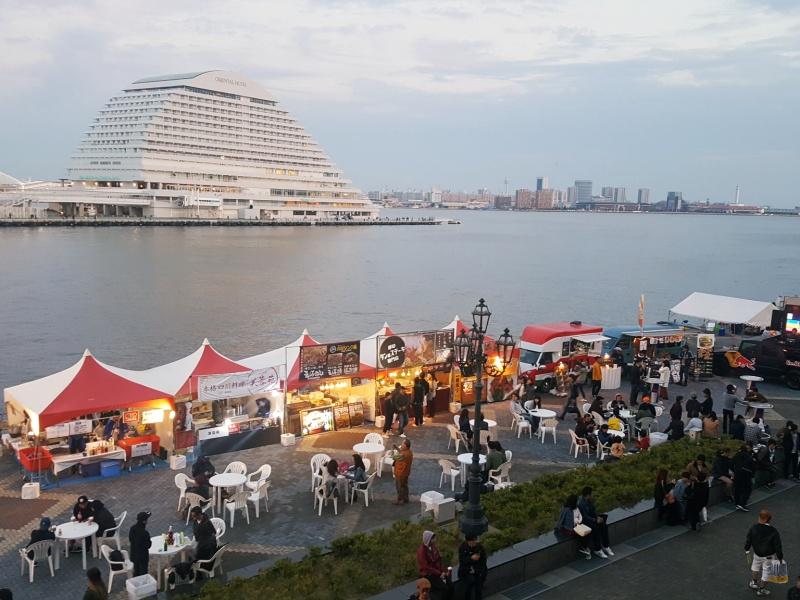 Kobe Japan harbour