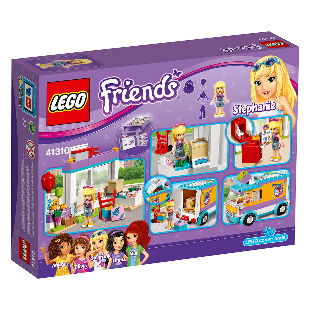 LEGO Friends Heartlake Gift Delivery (41310)