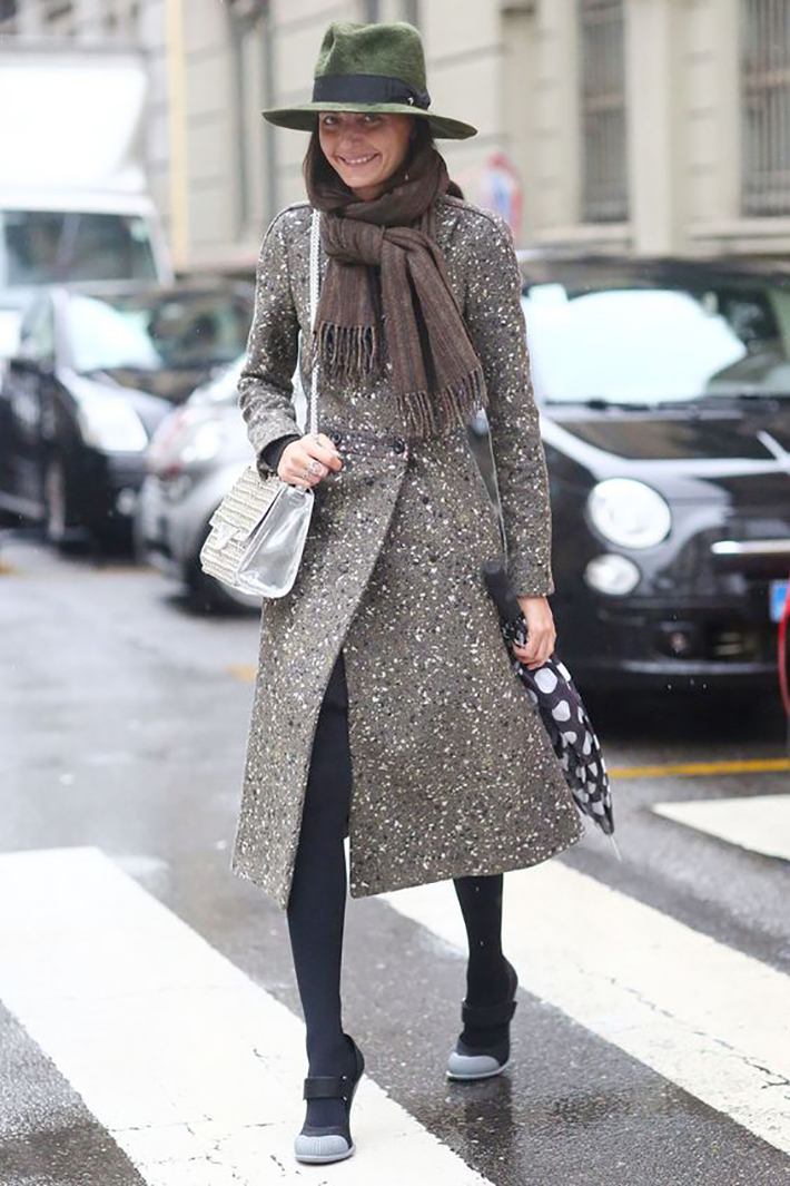 rainy day outfit accessories fall style streetstyle winter style fashion trend7