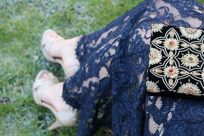Adora Mehitabel - Reiss Lace Maxi Dress