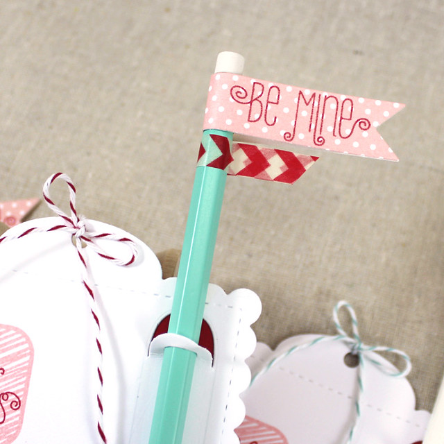 Be Mine Pencil Flag