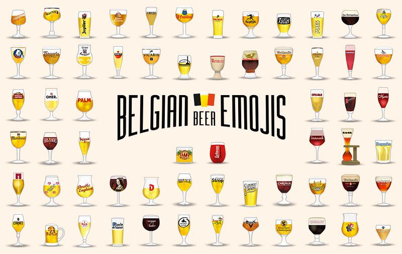 Belgian-Beer-emojies