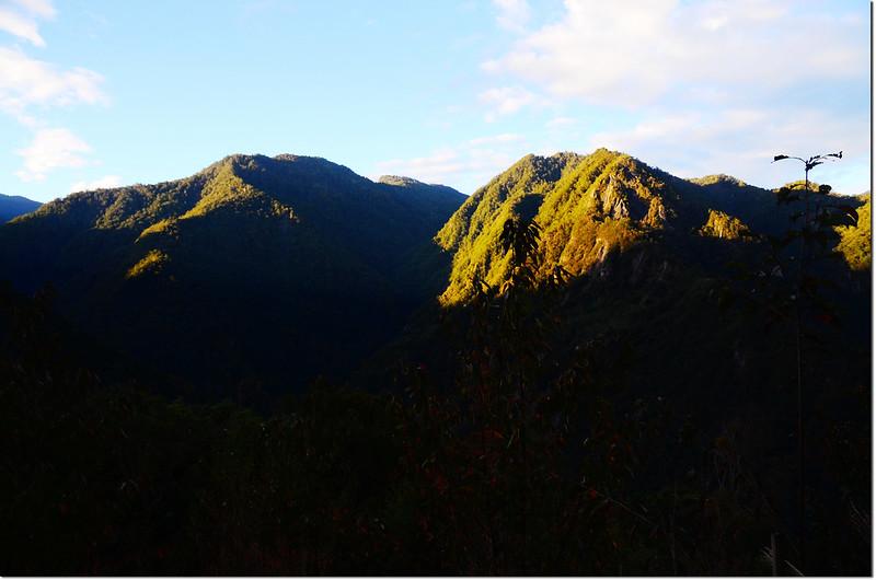 巨木區步道山景 1