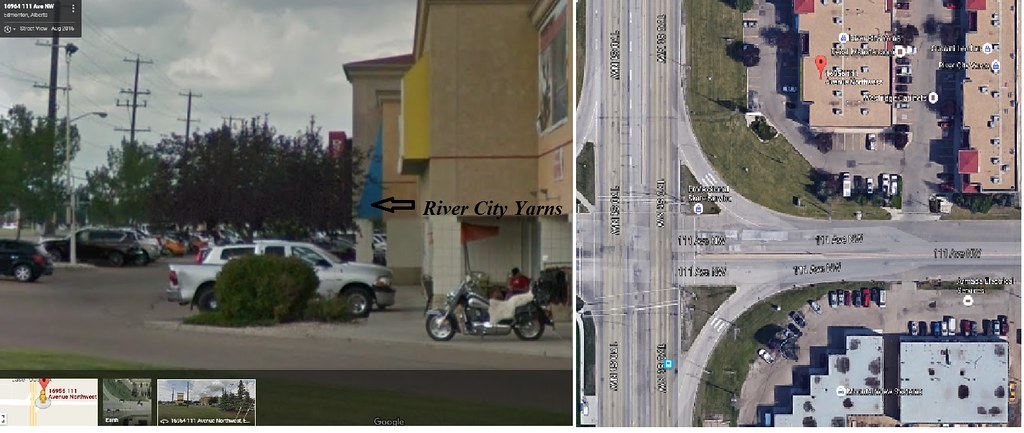 River City Yarns Location