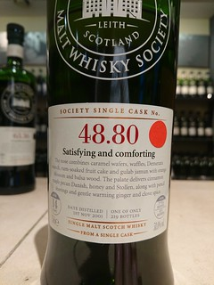 SMWS 48.80 - Satisfying and comforting