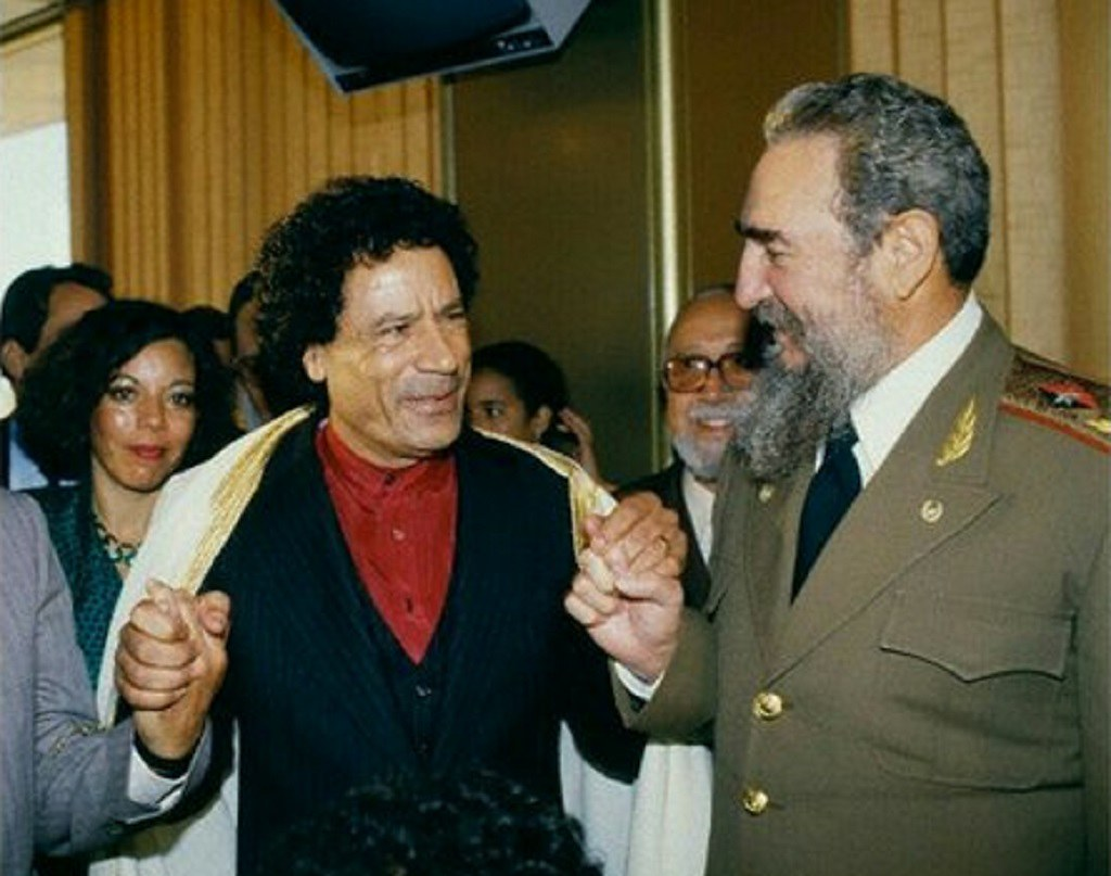 F. Castro Gaddafi