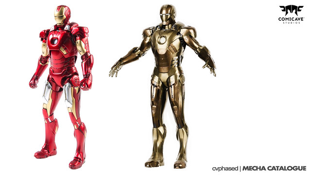 Comicave Studios' Omni Class 1/12 Iron Man Mark 7 and 21 - Cancelled