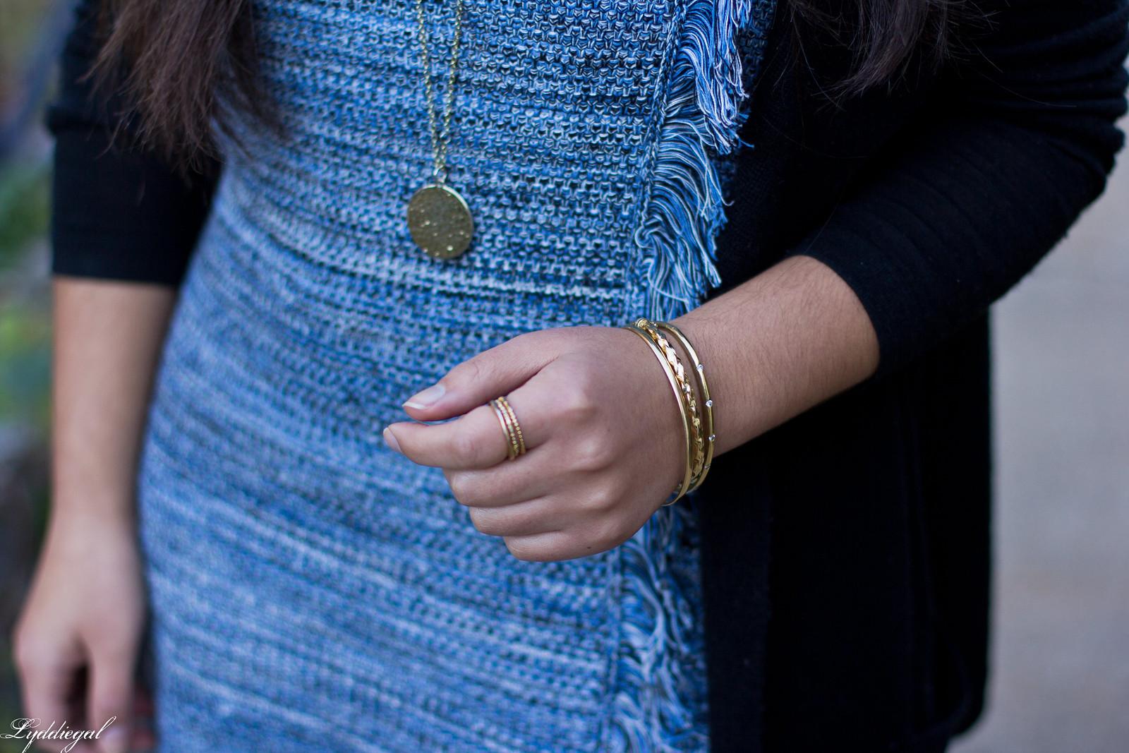 blue knit dress, black cardigan, black suede boots-8.jpg