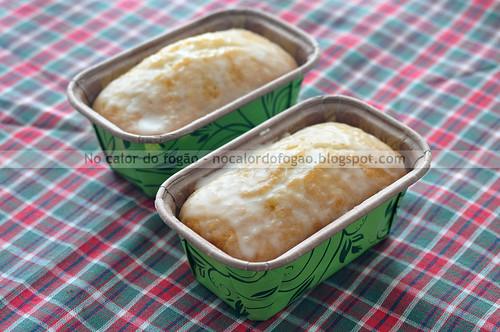 Bolo de limão e coco com um toque de gengibre