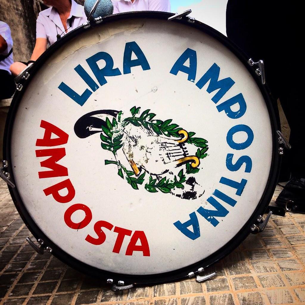#FMAmposta2015 @laliraampostina lo bombo
