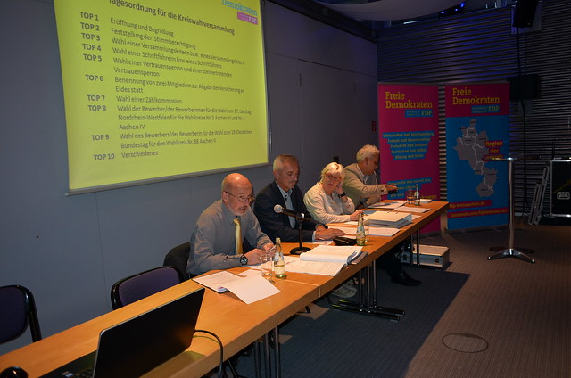 Kreiswahlversammlung und Kreisparteitag am 23.09.2016 in der Stadthalle Alsdorf