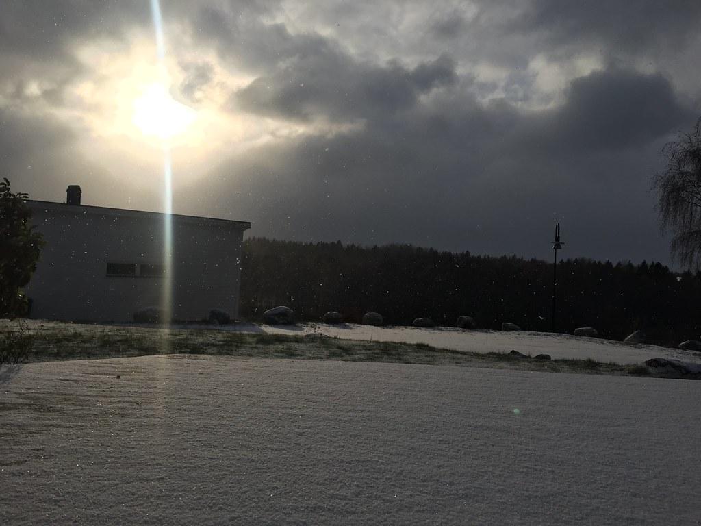 Den första snön 2016