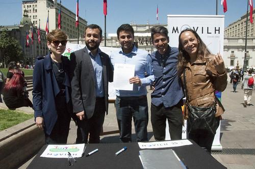 Candidatos a alcalde y concejal firman compromiso por una Comuna Diversa @Movilh 2016