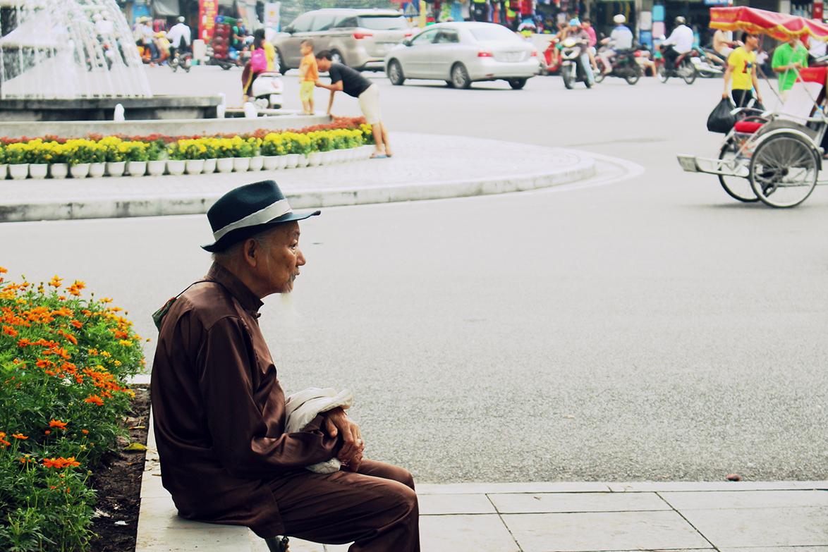 Man in Hanoi