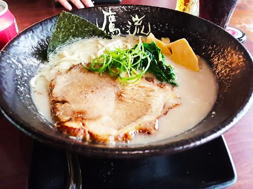 台北東區鷹流拉麵:在東區吃到東京的道地拉麵 (5)