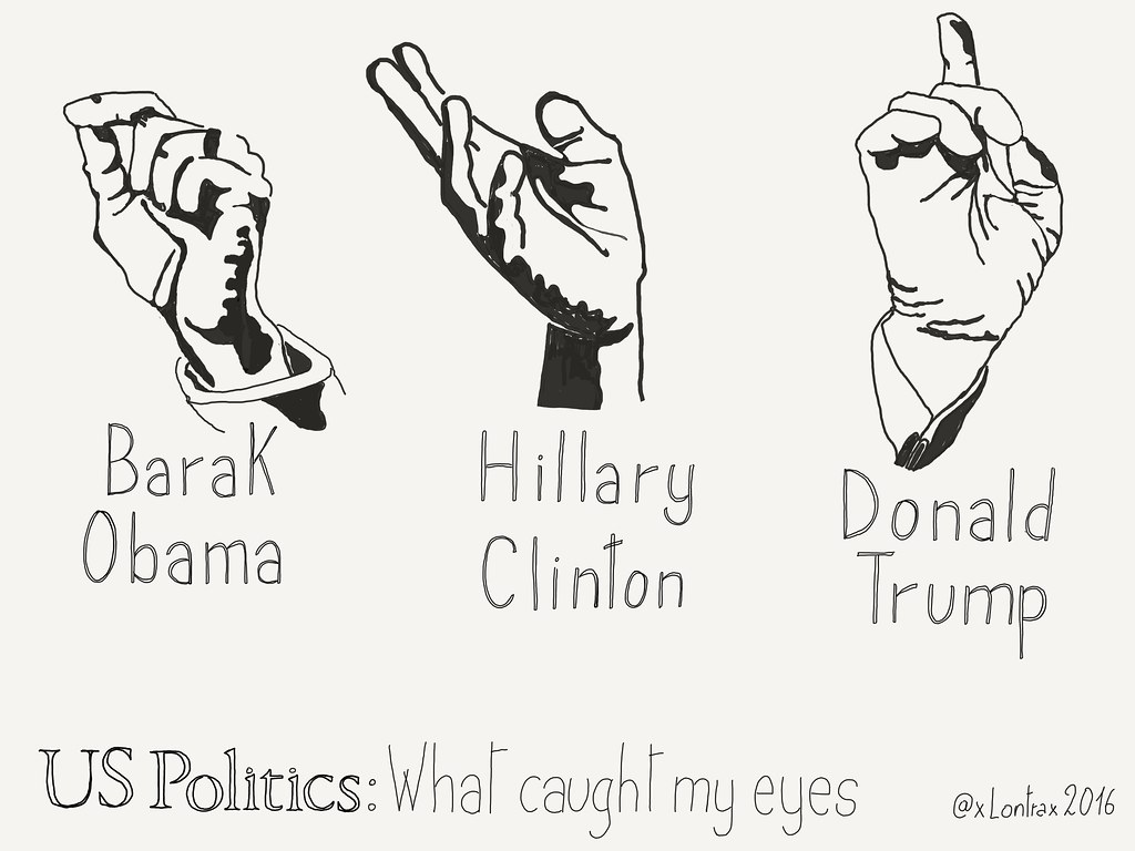 Hands of #UsPolitics - What caught my eyes