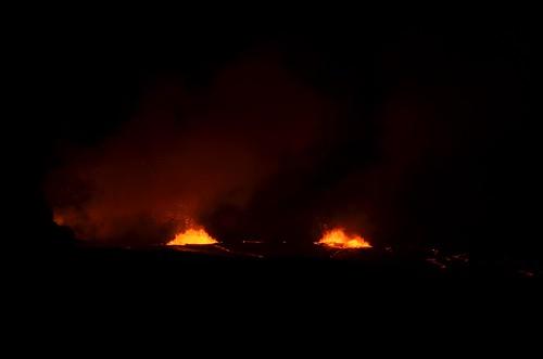 Lava Lake in the Halema'uma'u Crater