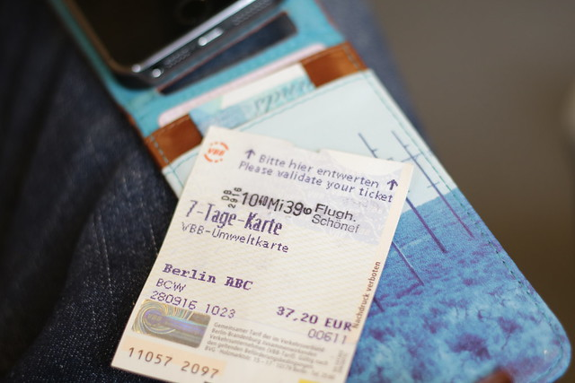 Berlin Transport Ticket