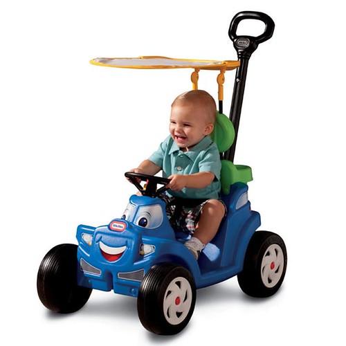 Little Tikes Deluxe Cozy Roadster Carro Coche Paseador Bebes 1