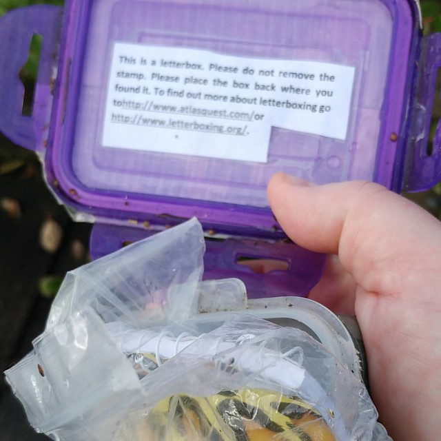 Geocaching for the scrapbook crowd?