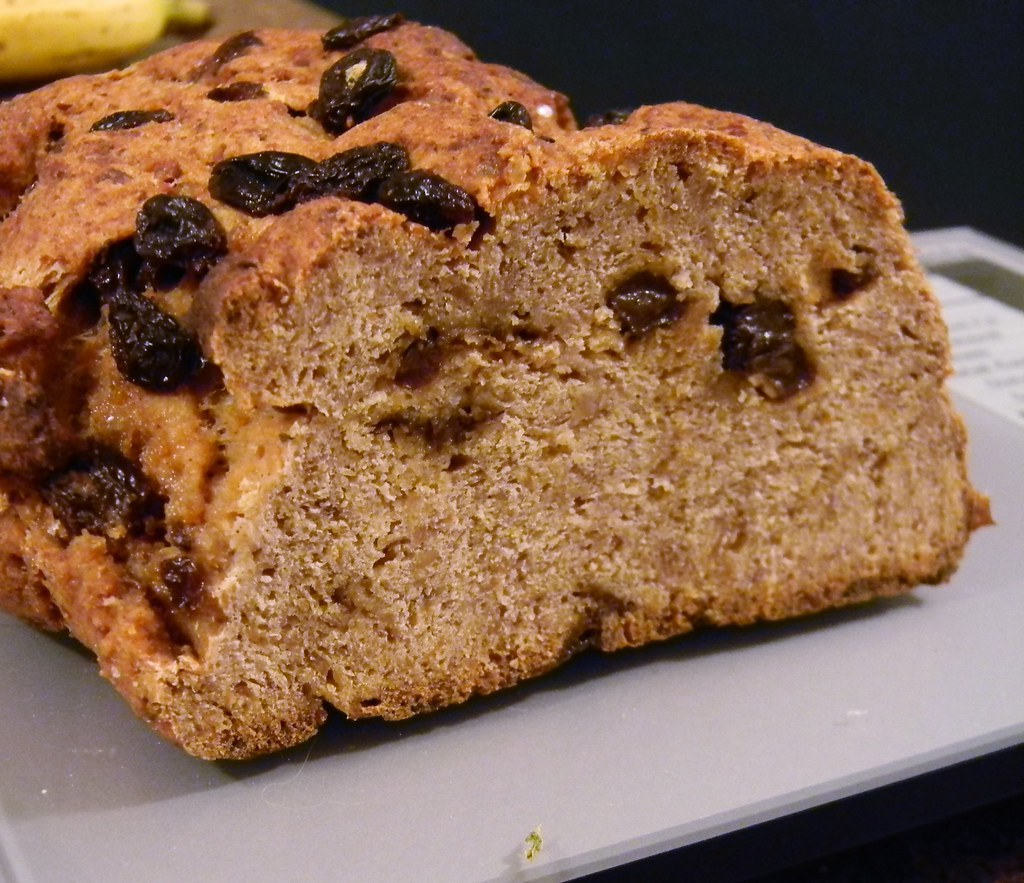 Raisin and Spice Kinako Bread