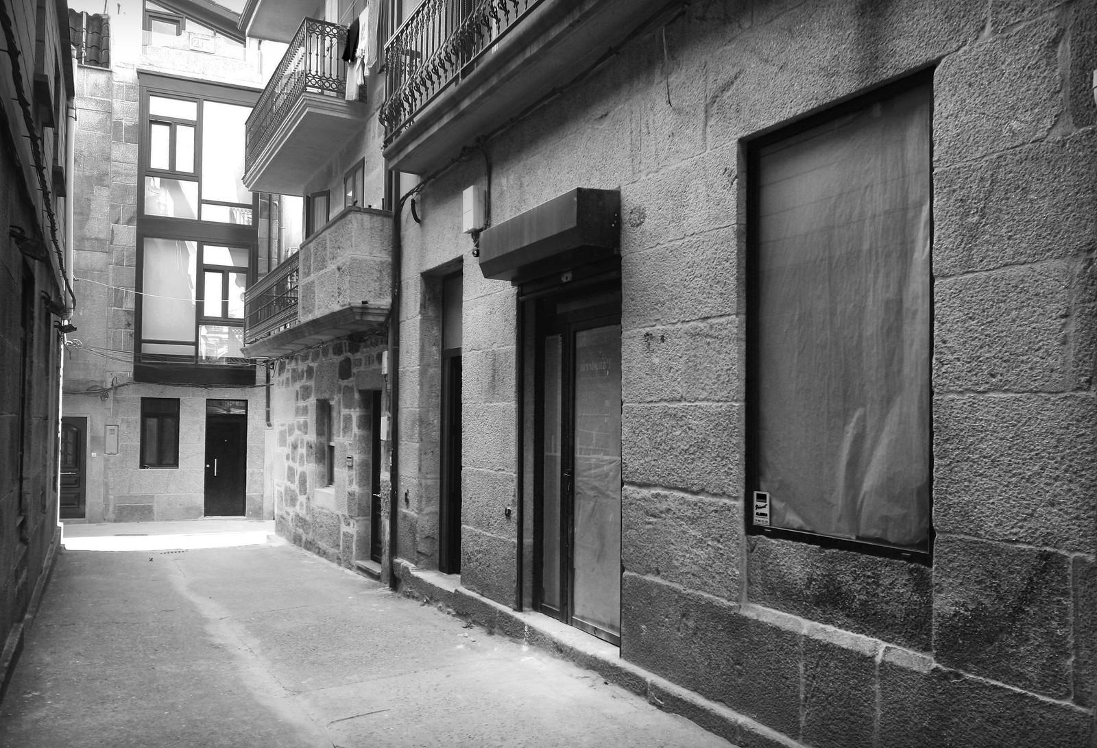 Antes de la apertura de la meejor inmobiliaria de Cangas