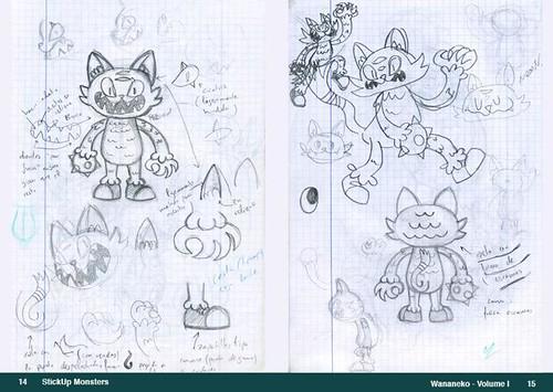 StickUp Monsters Artbook Vol.1