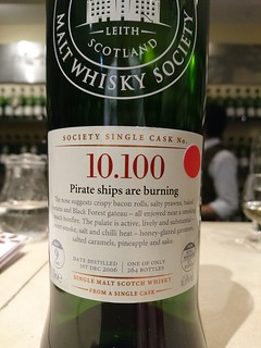 SMWS 10.100 - Pirate ships are burning