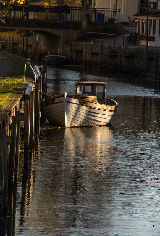 Boat in light