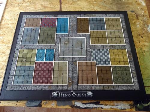 Hero Quest Spielfeld