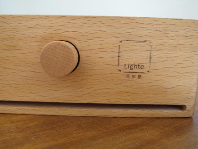 木質旋鈕與烙印@光印樣Lighto美好燈箱