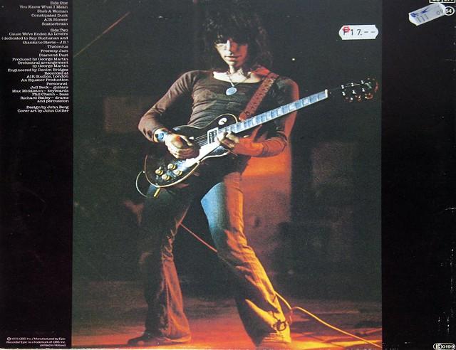 "Jeff Beck Blow By Blow 12"" vinyl LP"