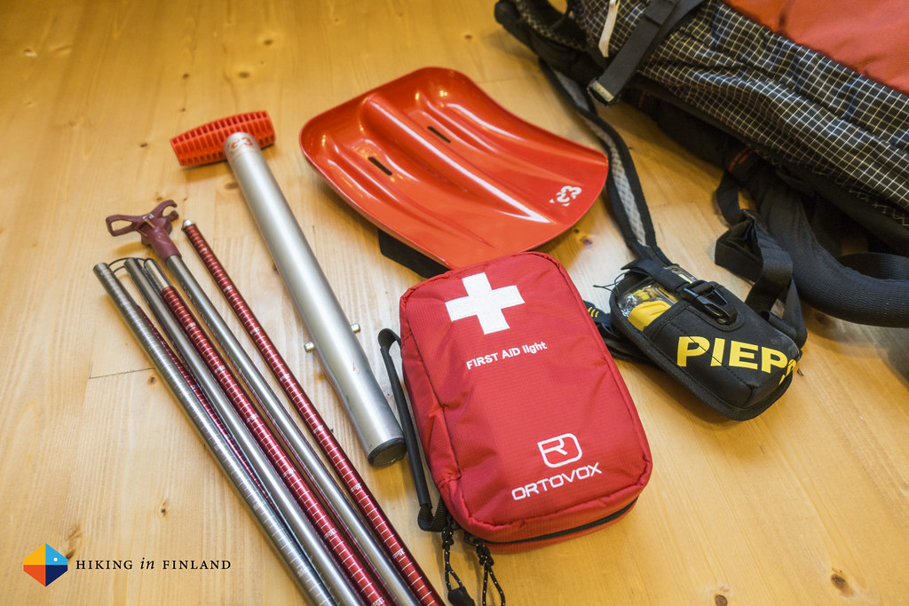 My Avalanche safety kit