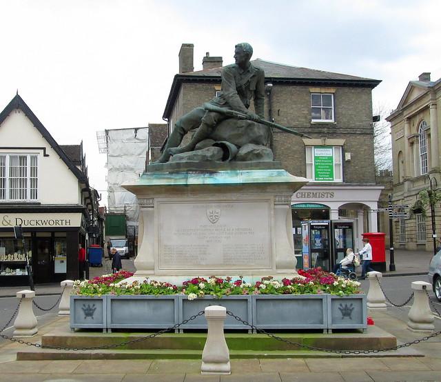 Bury St Edmunds Boer War Memorial