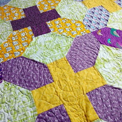 LOVE for Annabelle, quilting detail