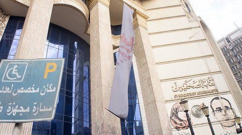Egypt's Journalists syndicate after court rule to prison its head
