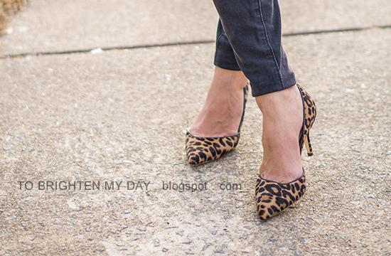 J.Crew Colette d'Orsay pumps in leopard calf hair