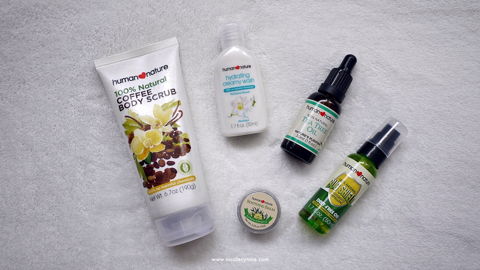 Nicole Cynnie | Human Nature 100% Natural Coffee Body Scrub 03