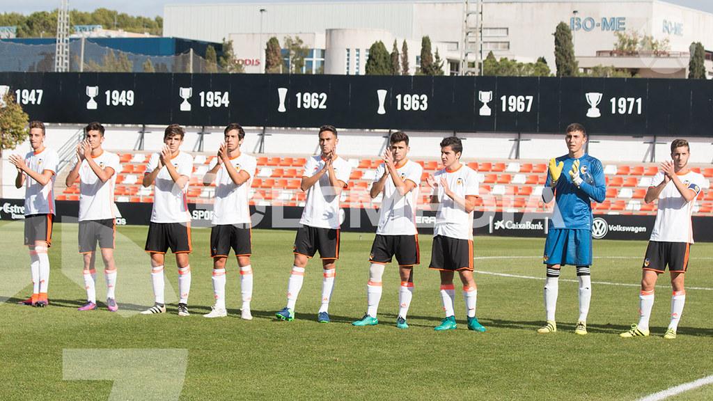 Valencia cf 0 - 0 Villarreal cf Juvenil División de honor (Carlos Alcalde)