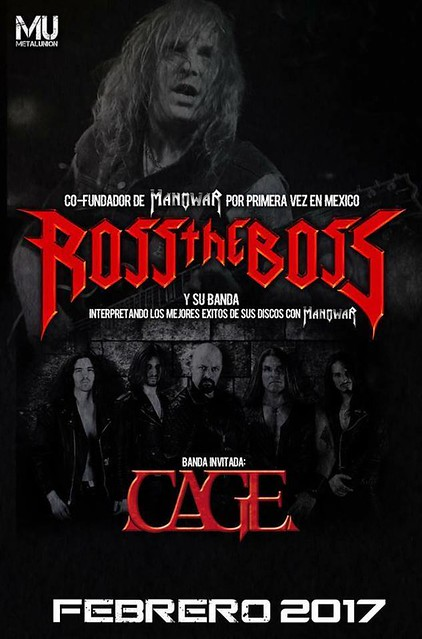 Ross the Boss Band + Cage