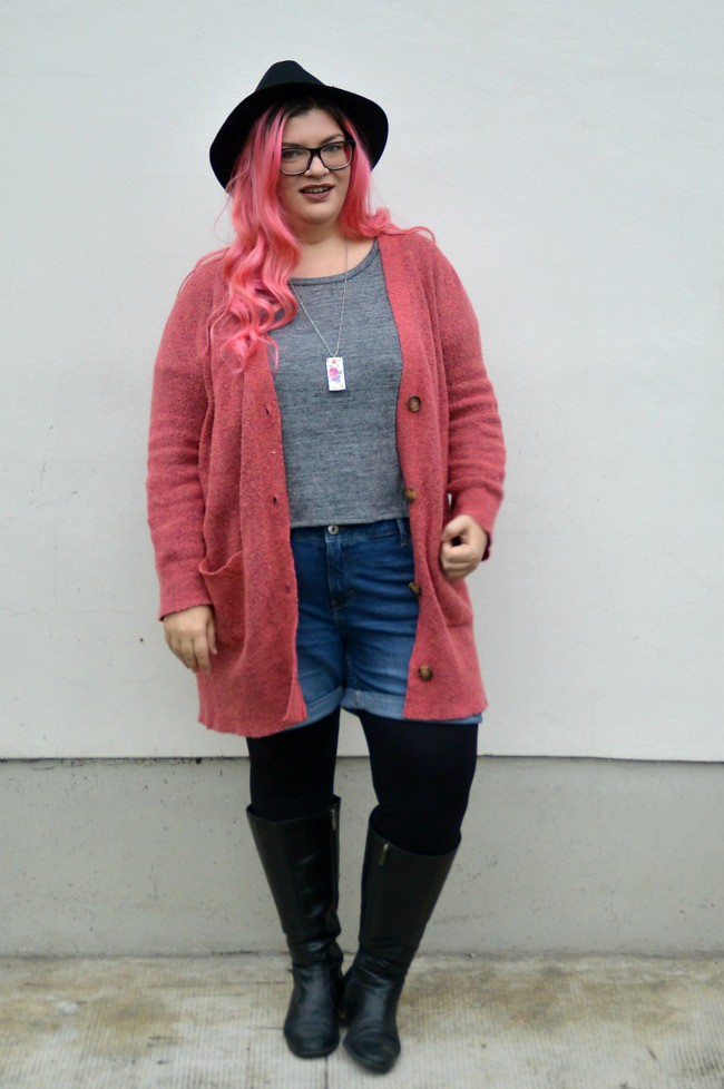 Plus size hipster outfit (5)