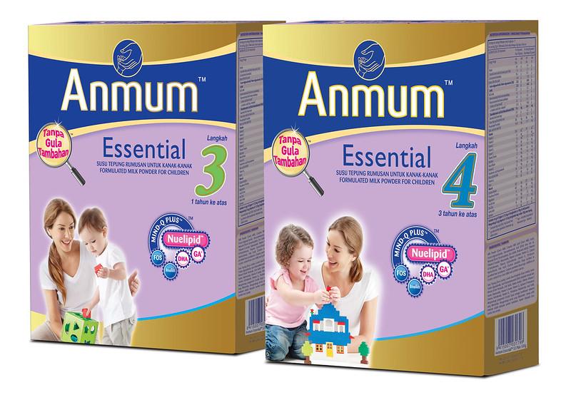 Anmum™ Essential packs 3 & 4