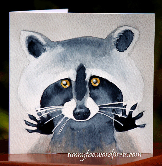 racoon-birthday-card