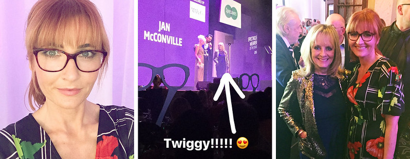 The Specsavers Spectacle Wearer of the Year Awards | Twiggy | Girls in glasses | Not Dressed As Lamb