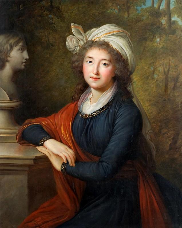 Elisabeth Vigée-Lebrun - Izabela Lubomirska (1793)