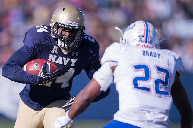 NCAAF Navy v Tulsa 079