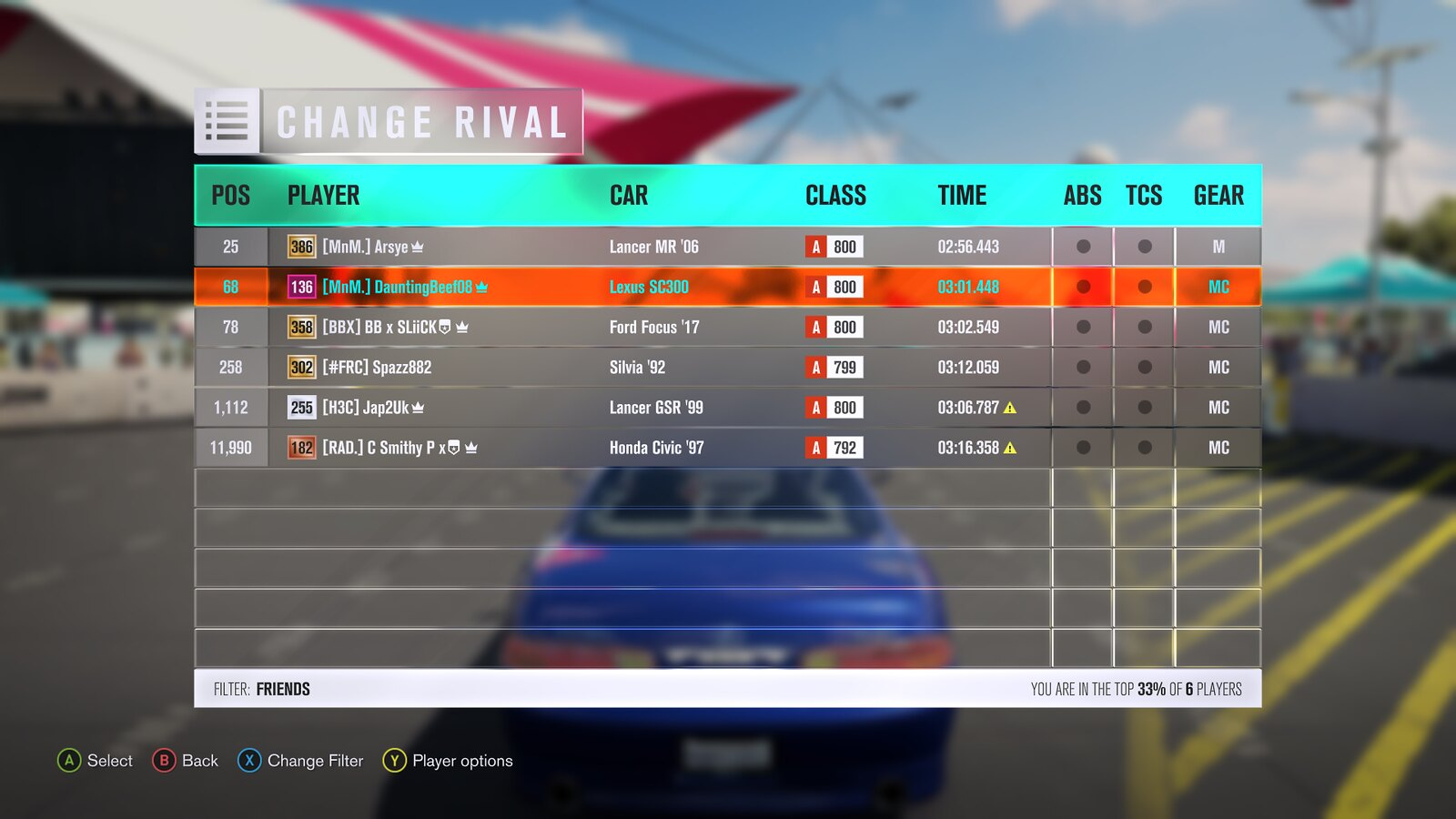 FH3 MNM Leaderboard Attacks #2 (Results Up!) 30213080563_3cfd5bf457_h
