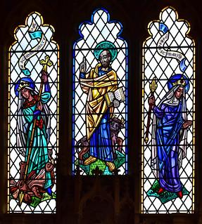 St Margaret, St Luke, Blessed Virgin (Paul Jefferies, 1968)
