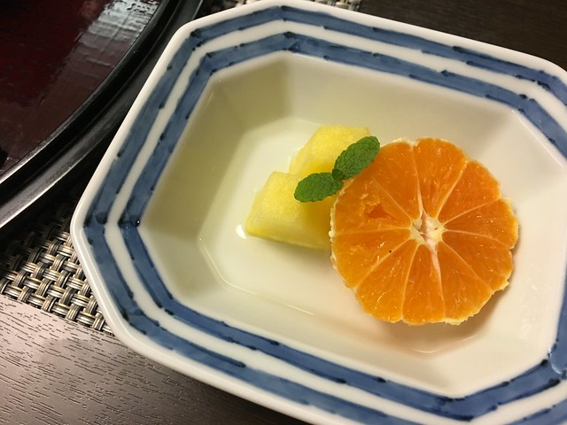 剝得超漂亮的橘子